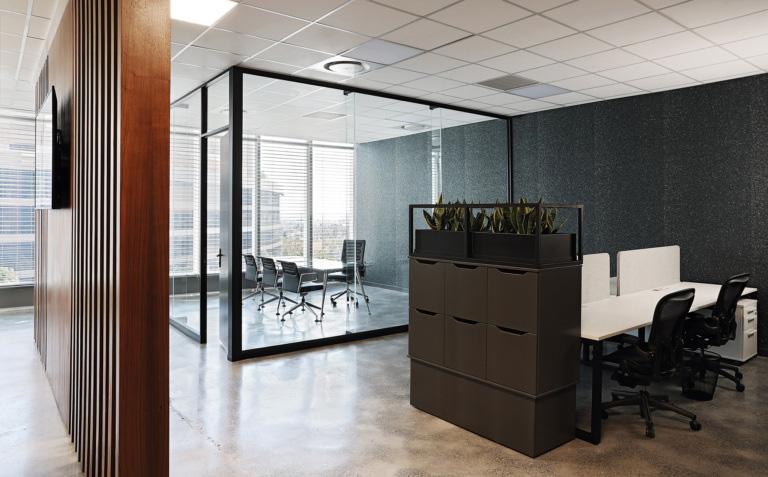 bố trí nội thất văn phòng