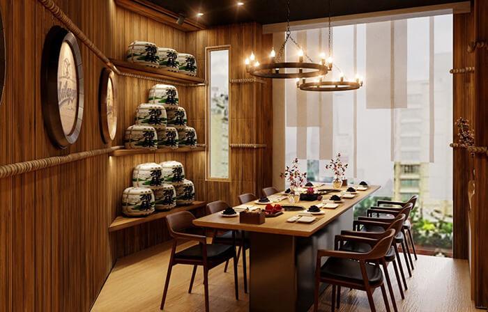 2 khó khăn khiến chủ đầu tư đau đầu khi thiết kế nhà hàng phong cách Nhật