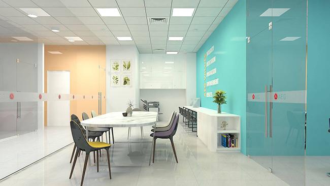 thiết kế thi công trung tâm anh ngữ