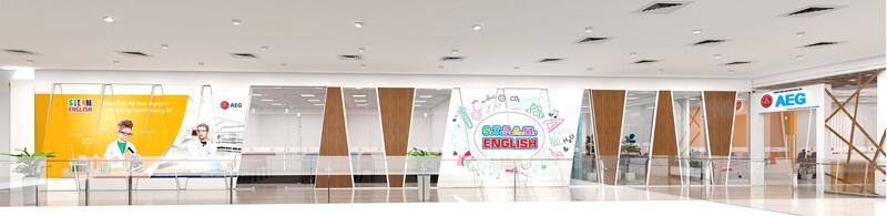 Đơn vị thiết kế trung tâm ngoại ngữ đẹp đạt chuẩn - CBS Concept & Build Nhật Bản