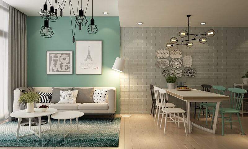 Dự án thiết kế thi công căn hộ hai phòng ngủ xanh ngọc - CBS Việt Nam