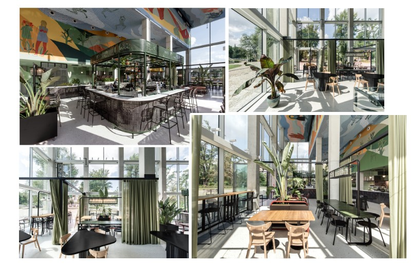 thiết kế thi công nhà hàng đẹp