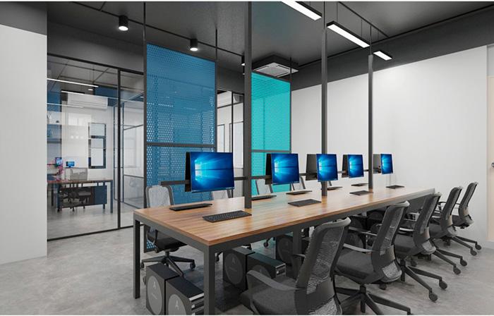 thiết kế thi công văn phòng cbsvn