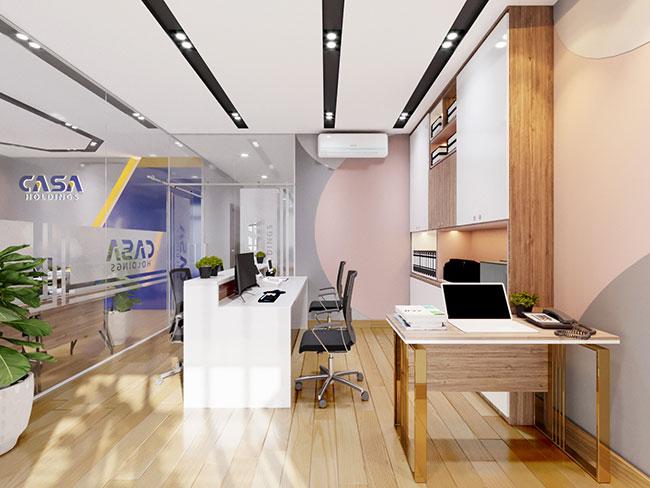 Thiết kế nội thất văn phòng tại tphcm