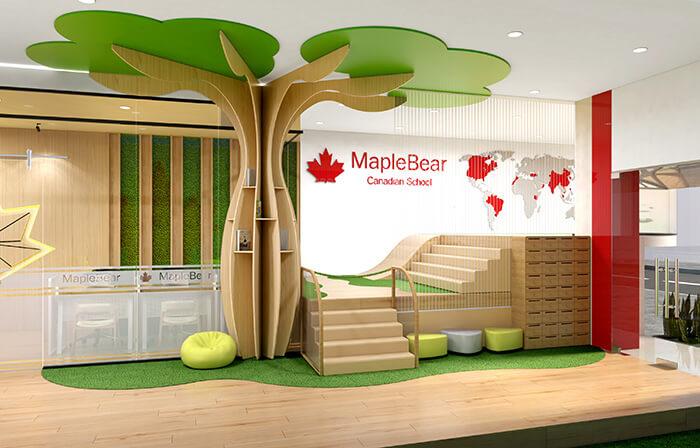 Thiết kế trường mầm non đẹp hiện đại bởi đơn vị thiết kế CBS Nhật
